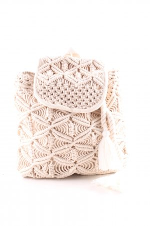 Laptop Backpack oatmeal simple style