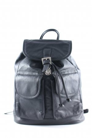 Laptop Backpack black masculine look