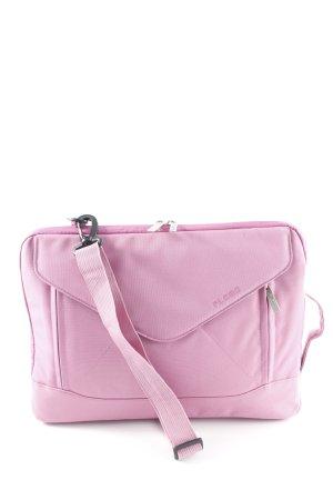 Laptop bag pink street-fashion look