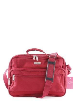 Laptoptas rood zakelijke stijl