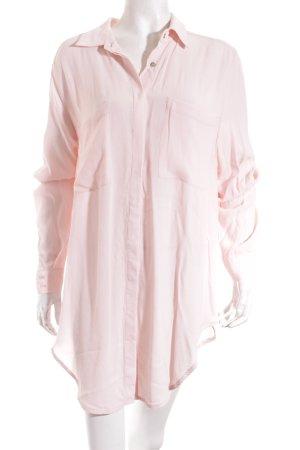 Notice Camicetta a maniche lunghe rosa pallido stile casual