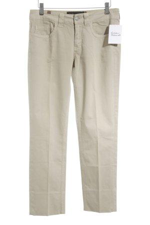 Notify Stoffhose beige schlichter Stil