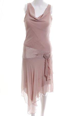 Nougat London Vestido estilo flounce rosa elegante