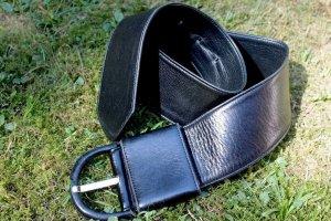 Loewe Lederen riem zwart Leer