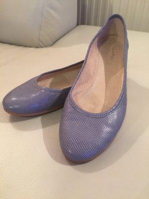 Ballerinas cornflower blue-azure