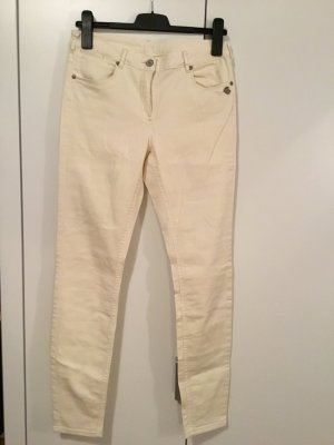 Maison Scotch Skinny jeans wolwit Katoen