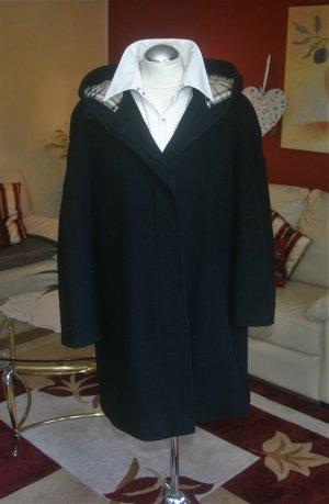 NP:1290,00€ Burberry Swinger Winter-Mantel Gr.40/M schwarz Cashmere/Wolle coat