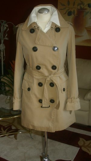 NP:1495€ Original Burberry Trenchcoat Gr.40/M honey beige Mantel