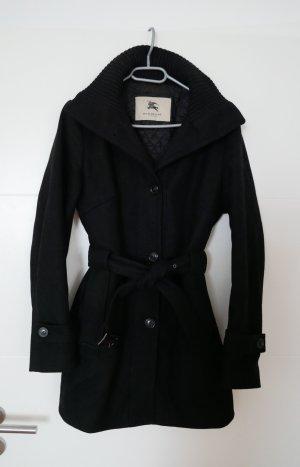 Burberry Manteau en laine noir laine vierge