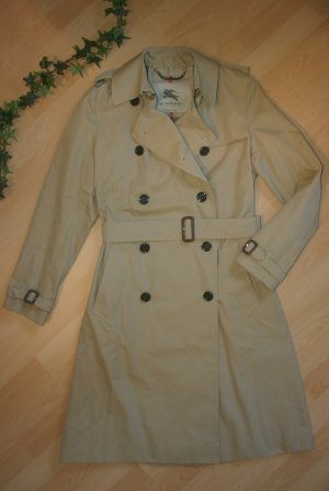 NP:1695€ Original Burberry Trench-coat Kensington Gr.38/40 M UK12 beige Mantel