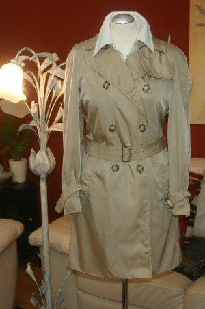 NP:1800,00€ Original Prada Trenchcoat GOLD beige Gr.38/S/M Mantel