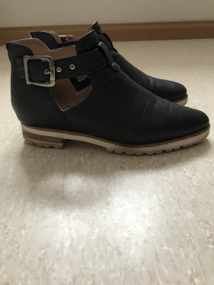 Ankle Boots multicolored leather