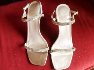 Escada High Heel Sandal silver-colored