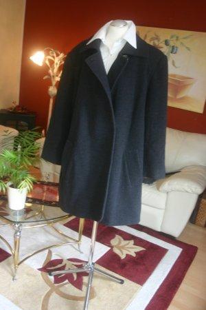 NP:2700€ Luxus Givenchy en plus Swinger Winter-Mantel Gr.48 W18 grau dunkelgrau
