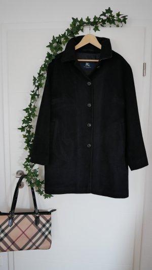 Burberry Winterjas zwart Angorawol