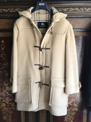 Burberry Duffle-coat multicolore laine