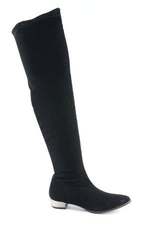 NR/Rapisardi Stivale cuissard nero stile casual