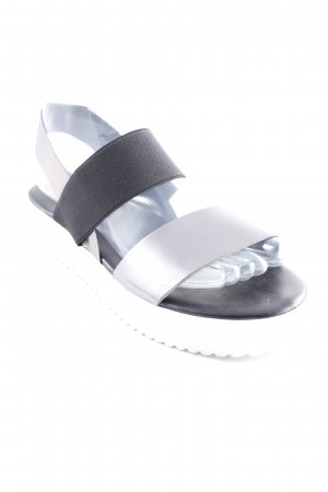 NR/Rapisardi Plateauzool sandalen veelkleurig straat-mode uitstraling