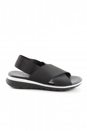 NR/Rapisardi Beach Sandals black casual look
