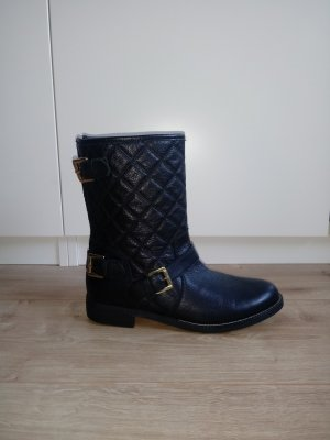 Nubikk Low boot noir-doré