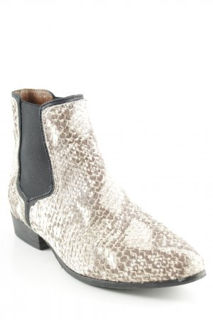 Nubikk Booties Animalmuster Reptil-Optik