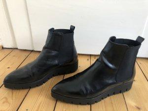 Nubikk Platform Booties black leather