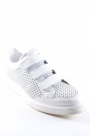 Nubikk Zapatillas con velcro blanco look casual