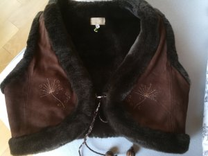 Leather Vest brown leather