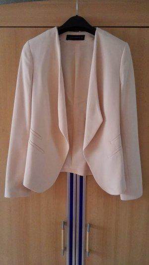 Nude Blazer von Zara Größe 34 xs
