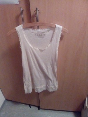 nude farbendes Top in L