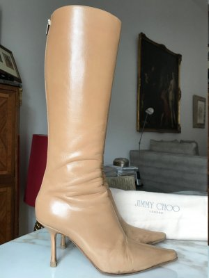 Jimmy Choo Botas estilo militar camel-beige Cuero