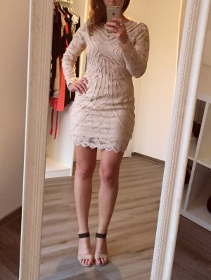 H&M Premium Lace Dress nude