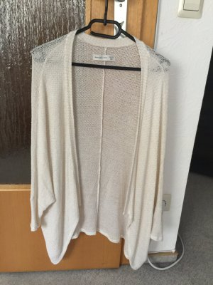 Nude/Goldener Cardigan Abercrombie & Fitch