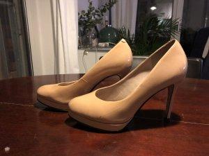 Nude Lack High Heels