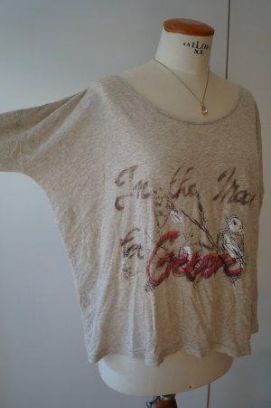 Nude Langarm Shirt Gr.38/40 3 Suisses neuwertig