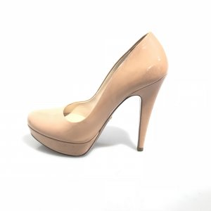 Prada High-Heeled Sandals nude