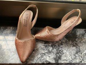 BPC Selection Premium Chaussure à talons carrés rose chair