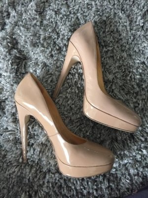 ***Nude Pumps mit Plateau***SALE