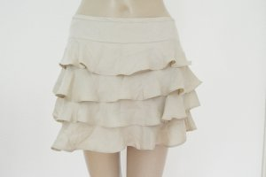 Topshop Miniskirt cream