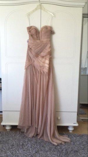 Nude/Rosa farbenes Ballkleid / Abendkleid