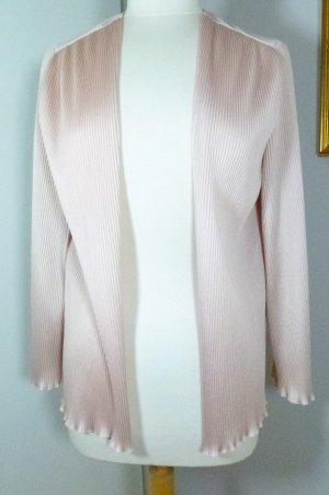 Veste chemisier rose chair polyester