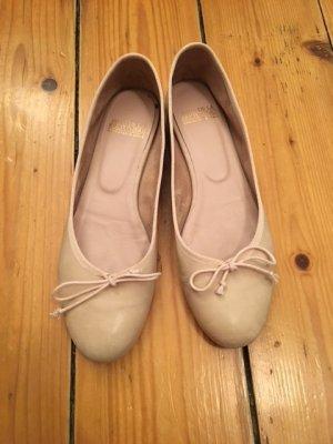 Fred de la bretoniere Mary Jane Ballerinas pink leather