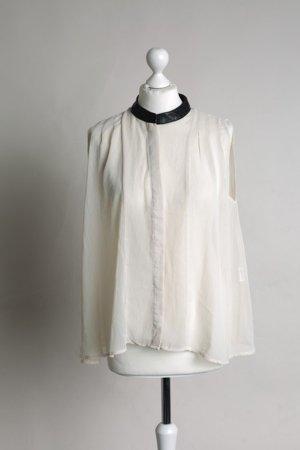 Vero Moda Blusa de cuello alto multicolor