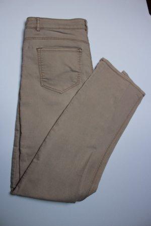 nudefarbene Jeans H&M