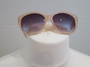 Zara Glasses beige synthetic material
