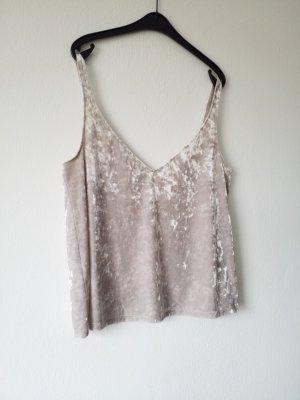 nudefarbenes wunderschönes Seidetop von H&M ungetragen NEU mit tollem Rückenausschnitt