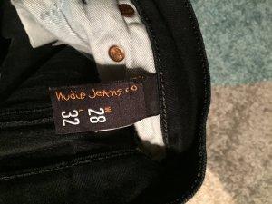 Nudie Jeans black / schwarz - 28/33 Tube Tom