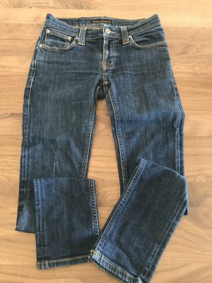 Nudie jeans Jeans cigarette bleu