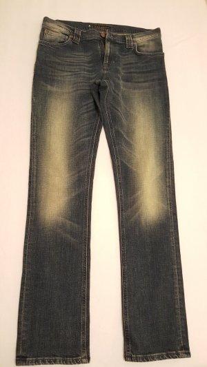 Nudie jeans Drainpipe Trousers blue