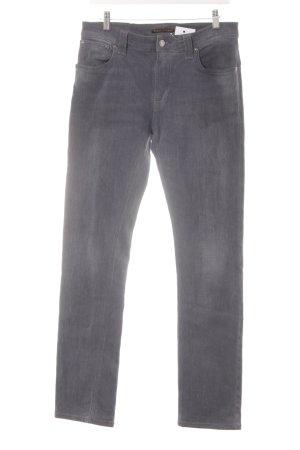 Nudie jeans Slim Jeans grau Casual-Look